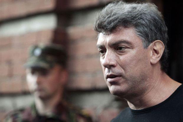 Boris Nemtsov en 2012