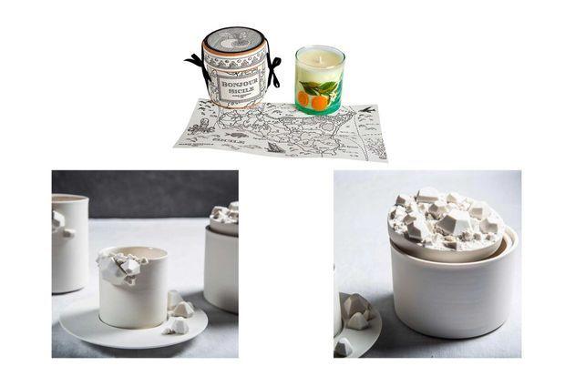 Bougie-porcelaine
