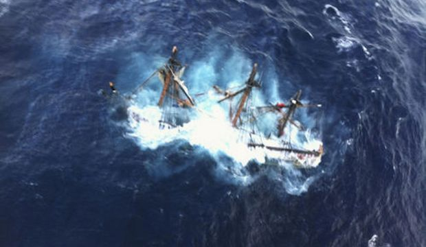 Bounty Coulé Sandy Ouragan-