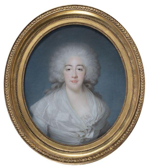 Portrait de la comtesse de Provence, par Joseph Boze, en vente aux enchères à Paris, le 15 octobre 2021