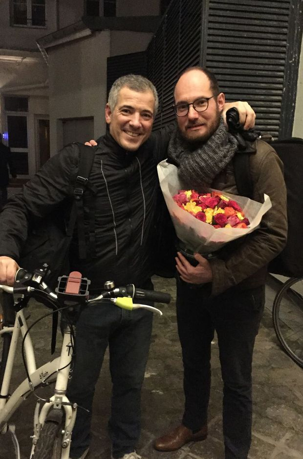 Bruno Putzulu et son complice Gregory Daltin.