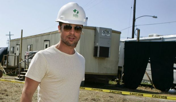 Brad Pitt Nouvelle Orléans-