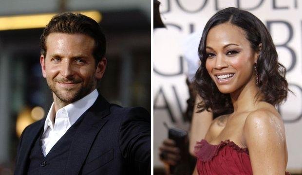 Bradley Cooper et Zoe Saldana-