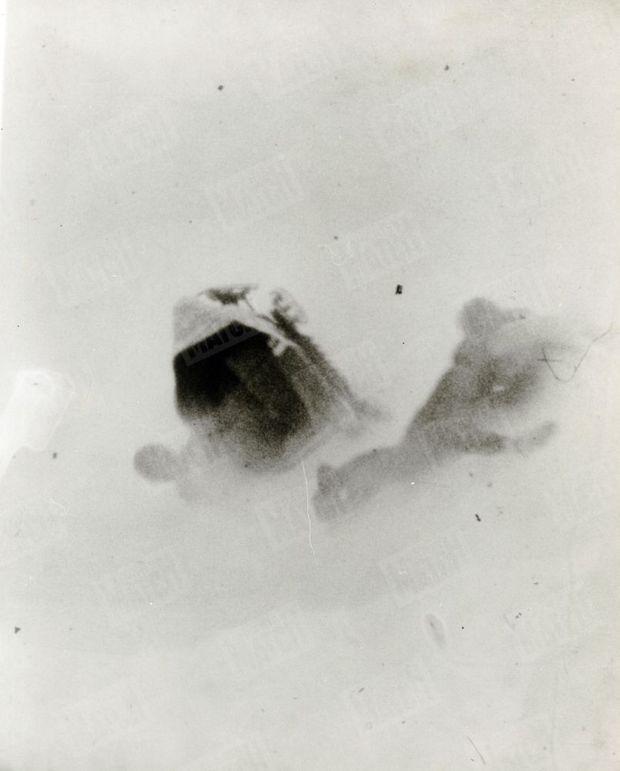 L'accident de bobsleigh de Claude Brasseur et Jean-Claude Sauer, en janvier 1963.