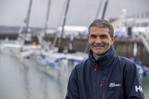 Emmanuel Bachellerie, directeur général de Brest Ultim Sailing.
