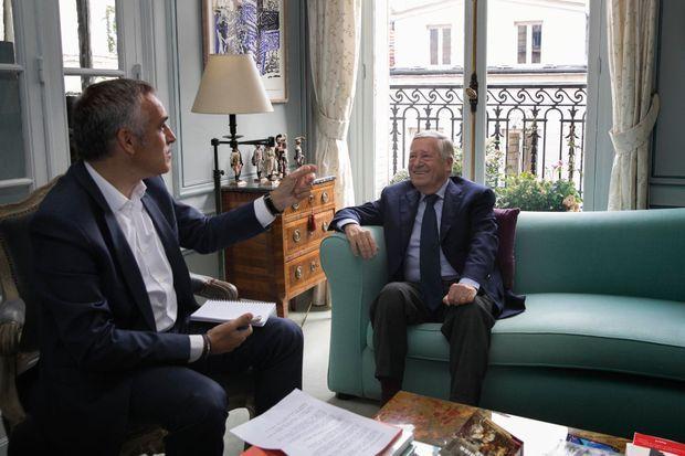 Bruno Jeudy et Alain Duhamel.