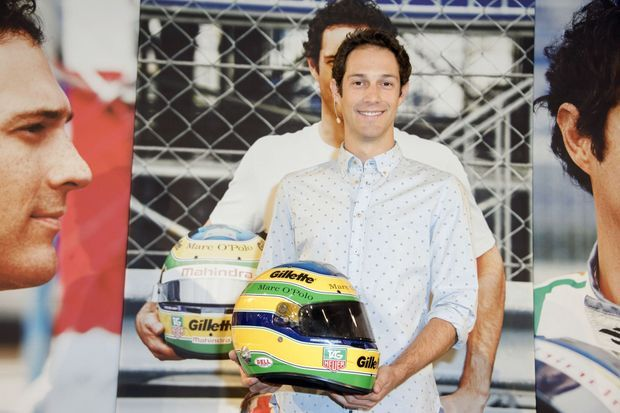 Bruno Senna en mai 2015.