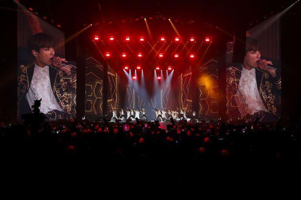 BTS vendredi soir à l'Accord Hotel Arena de Bercy.