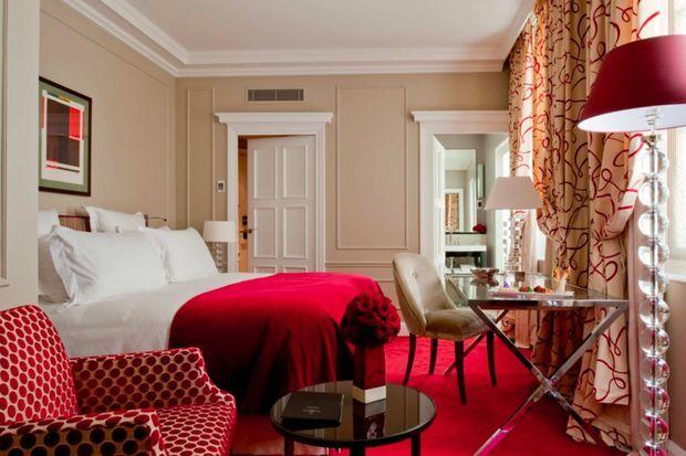Une chambre du Burgundy.