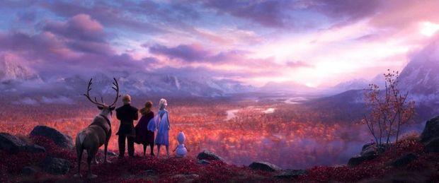 C'est en Islande que les animateurs sont allés prendre un grand bol d'inspiration pour donner corps à l'univers d'Elsa.