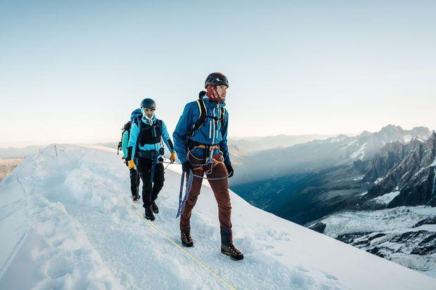 C'est le 24 septembre dernier que le groupe est arrivé en haut du Mont Blanc.