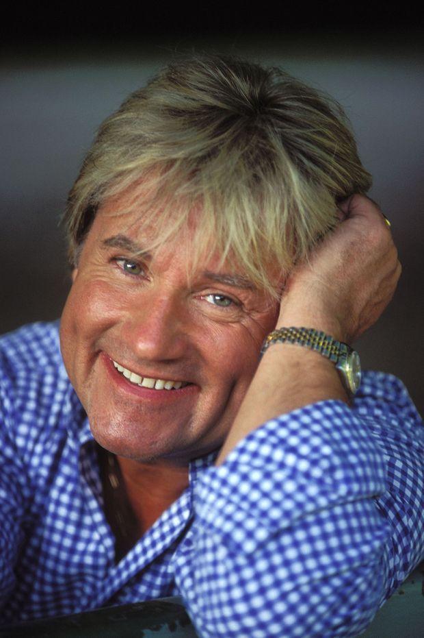 Le chanteur C. Jérôme en juin 1996.