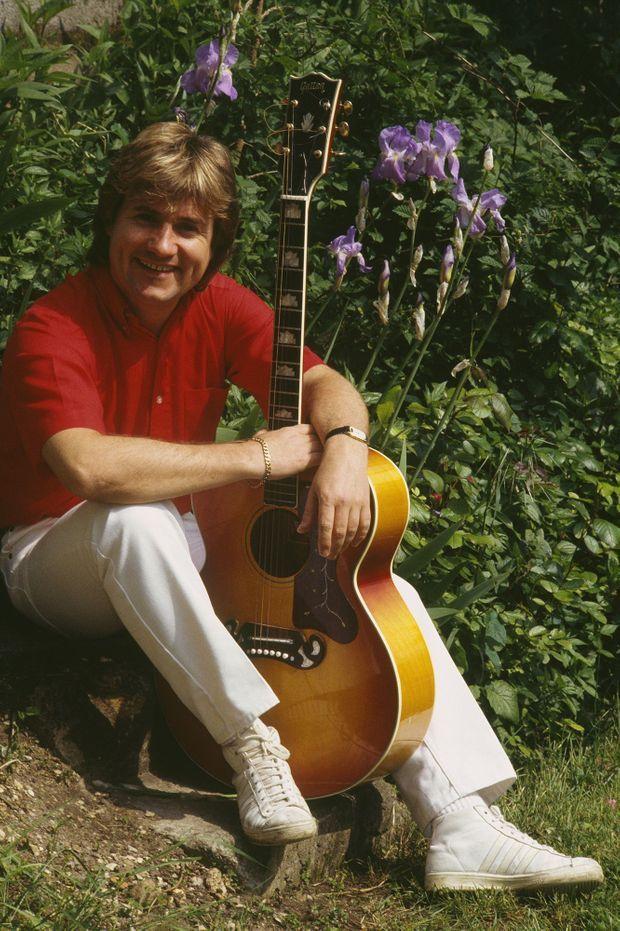 Le chanteur C. Jérôme en 1980.
