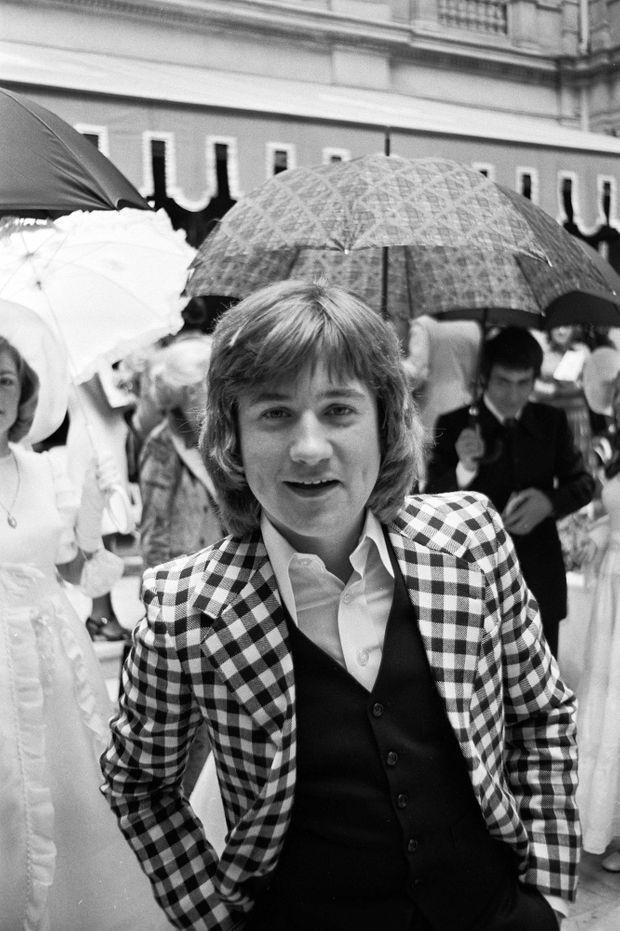 Le chanteur C. Jérôme en juillet 1974.