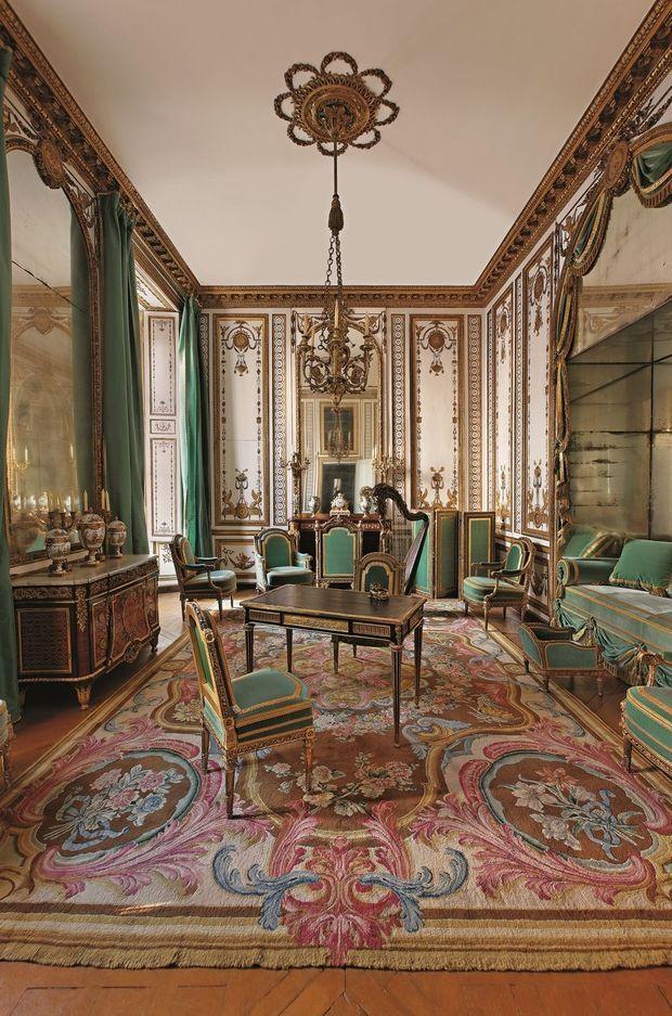 Le Cabinet doré de la reine Marie-Antoinette à Versailles