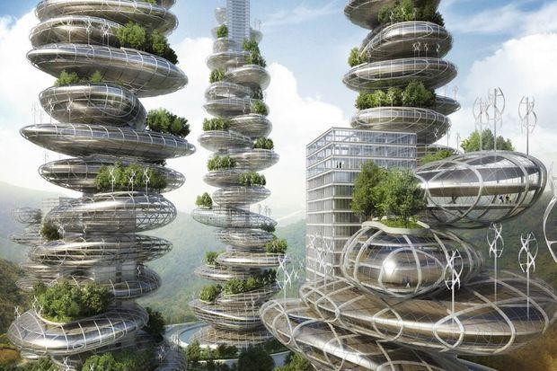"""""""Le projet Asian Cairns se veut un modèle de smart city. Chaque galet présentera un bilan énergétique positif, autant sur le plan électrique et calorifique qu'alimentaire"""""""
