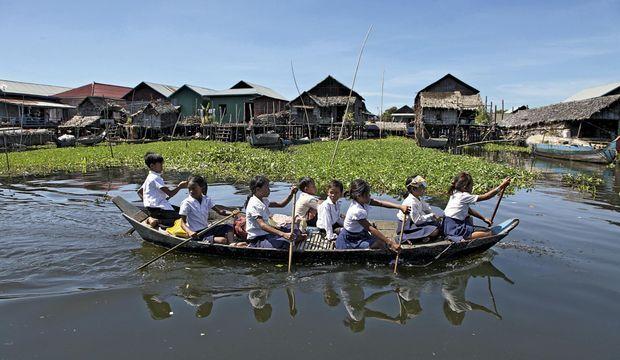 Cambodge Tonlé Sap-