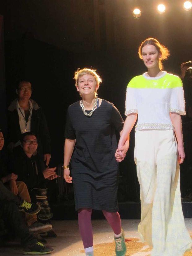 Camille Kunz, Suissesse, gagne le prix Chloe, excellente coloriste