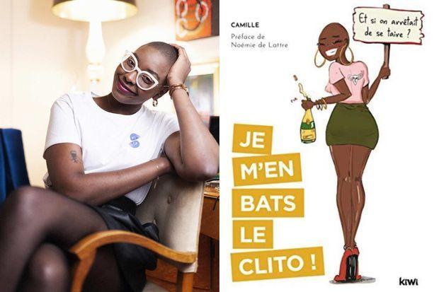 Camille tient le compte @jemenbatsleclito. Elle a écrit le livre et lancé une marque éponymes.