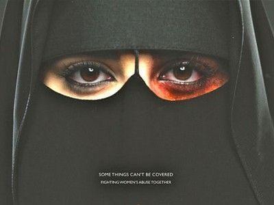 La campagne contre les violences conjugales.