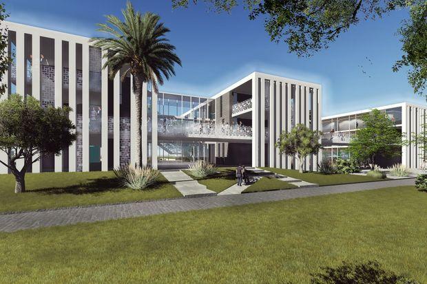 Campus de l'Essec à Rabat