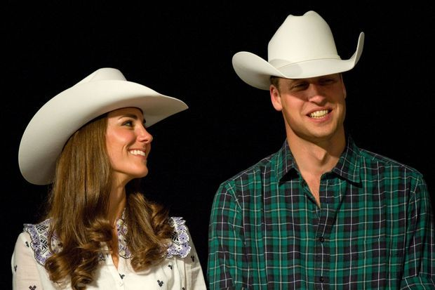 William et Kate, duc et duchesse de Cambridge, au Canada, en 2011.
