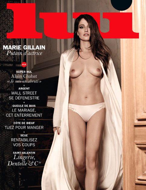 """Marie Gillain pour """"Lui"""" et son prochain numéro"""