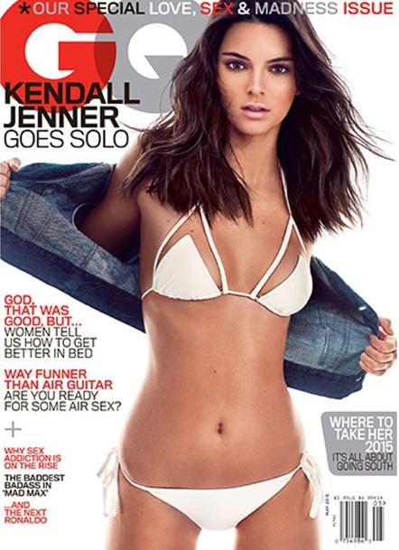 Une nouvelle couverture des plus sexy pour Kendall Jenner