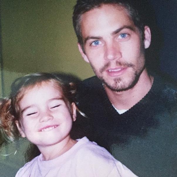 Le 21 avril, Meadow postait une nouvelle photo hommage dédiée à son père.