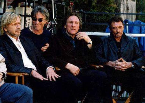 Renaud était un ami proche de Johnny Hallyday
