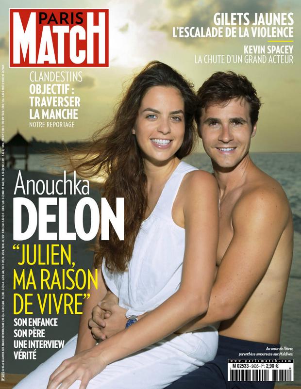 La couverture du numéro 3635 de Paris Match