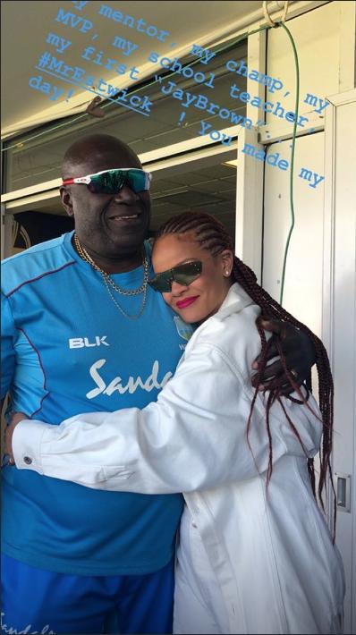 Rihanna et son ancien professeur