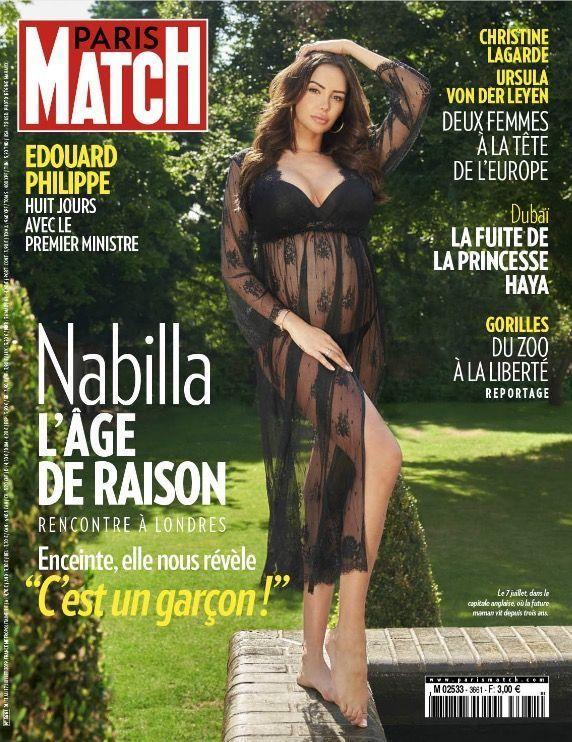 La couverture du numéro 3661 de Paris Match.
