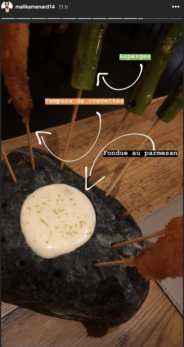 Malika Ménard dévoile les images de son escapade gourmande à Barcelone le 7 août 2019