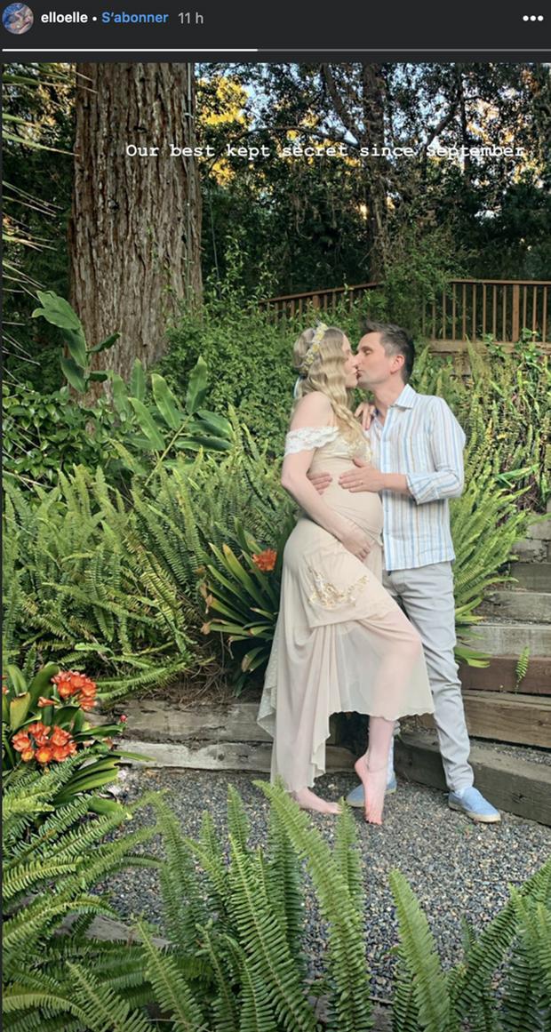 Elle Evans et Matthew Bellamy annoncent qu'ils attendent leur premier enfant, le 9 février 2020