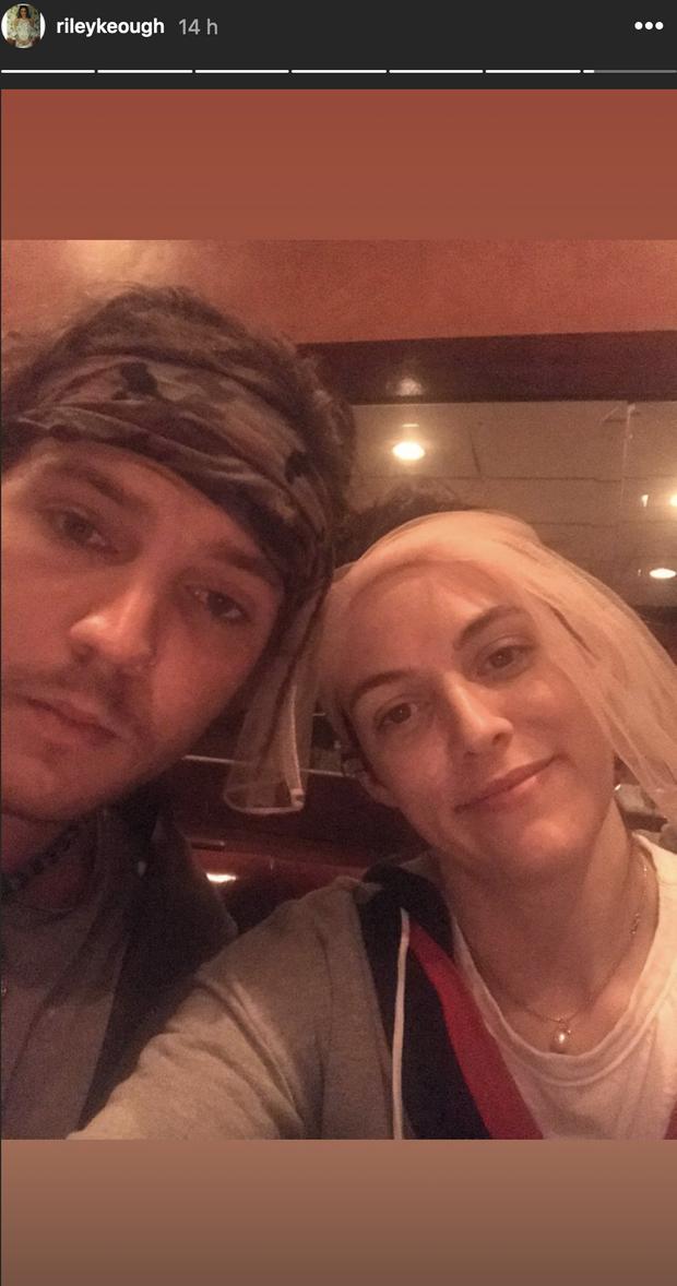 Riley Keough a partagé une photo souvenir avec son frère Benjamin, le 28 juillet 2020, quelques jours après la mort du jeune homme