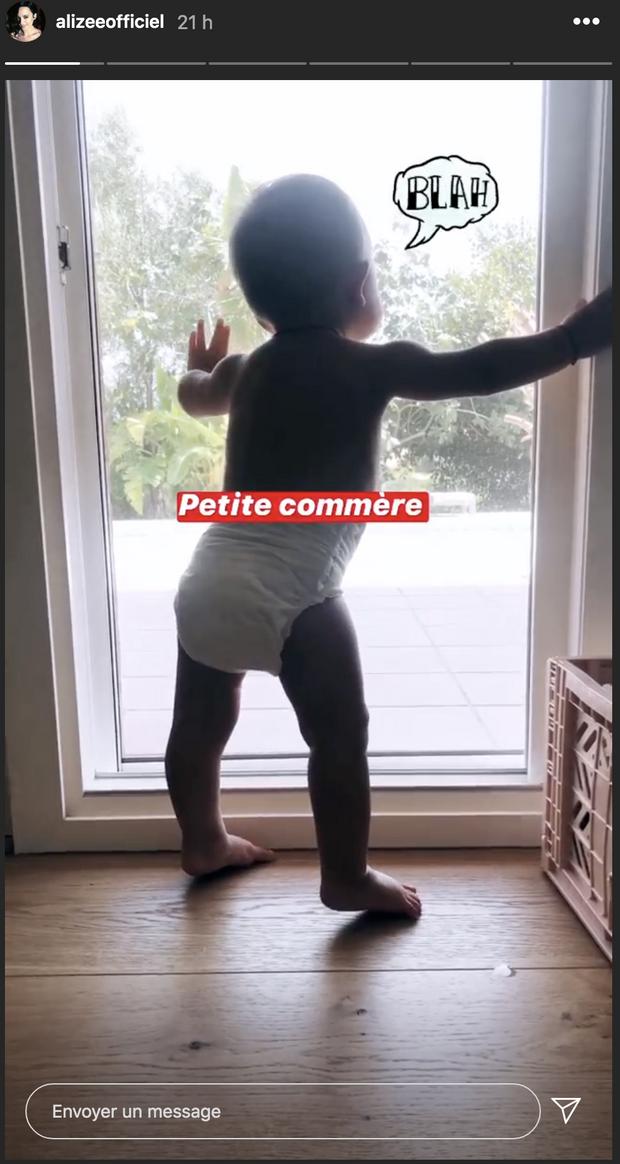 Alizée dévoile une photo de sa petite Maggy le 3 août 2020