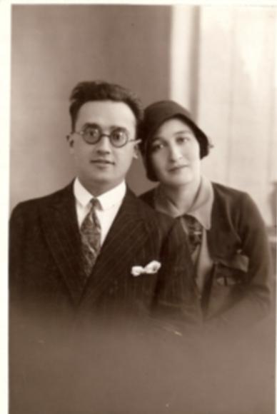 Les parents de Denise, Iser Bystryn et Sara Wolski.