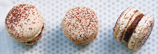 Les macarons, une des spécialités de Mercotte.