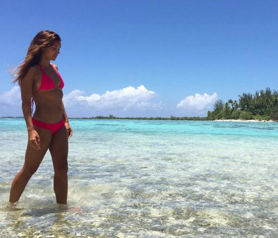 Marine Lorphelin avait publié une photo controversée sur Instagram vendredi dernier.