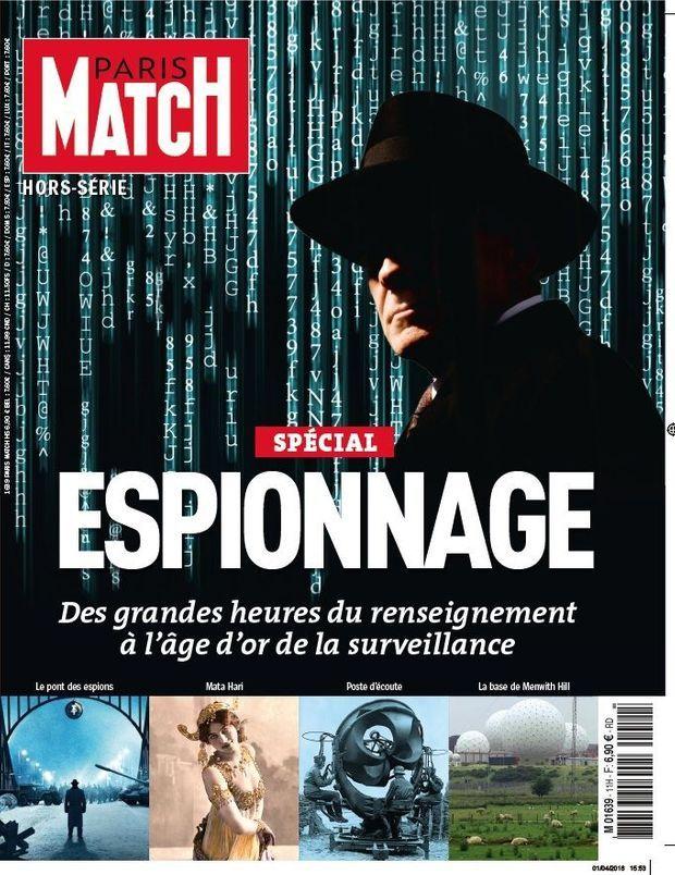 Le hors série spécial espionnage de Paris Match