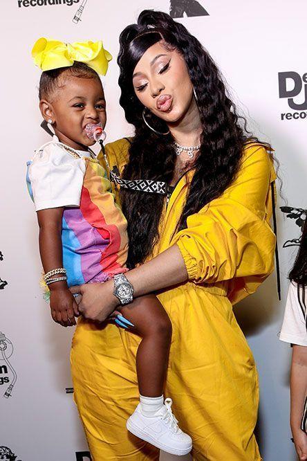 Cardi B et sa fille Kulture Kiari à Beverly Hills, le 17 juin dernier.