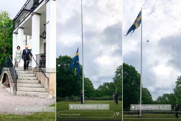 Le roi Carl XVI Gustaf et la reine Silvia de Suède, le 6 juin 2020
