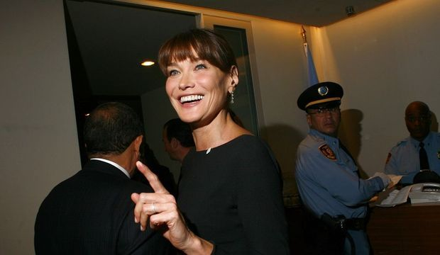 Carla Bruni New York-