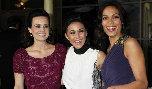 Carla Gugino, Emmanuelle Chriqui et Rosario Dawson-