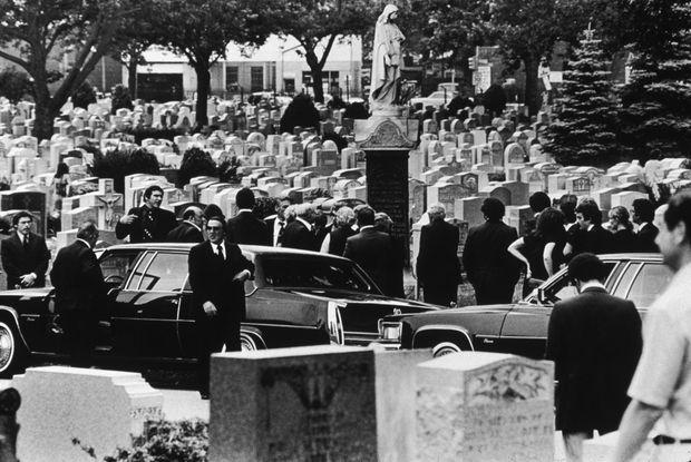 Les funérailles de Carmine Galante, le 16 juillet 1979.