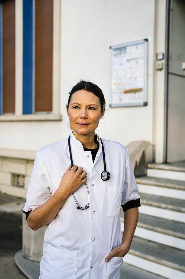 Caroline Combes, directrice du service de santé universitaire de l'université Claude Bernard Lyon 1.