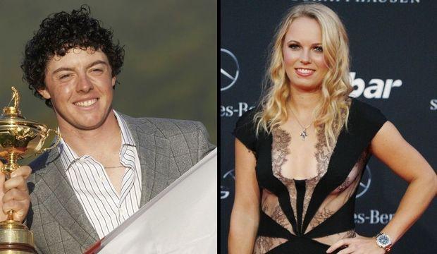 Caroline Wozniacki et Rory McIlroy-
