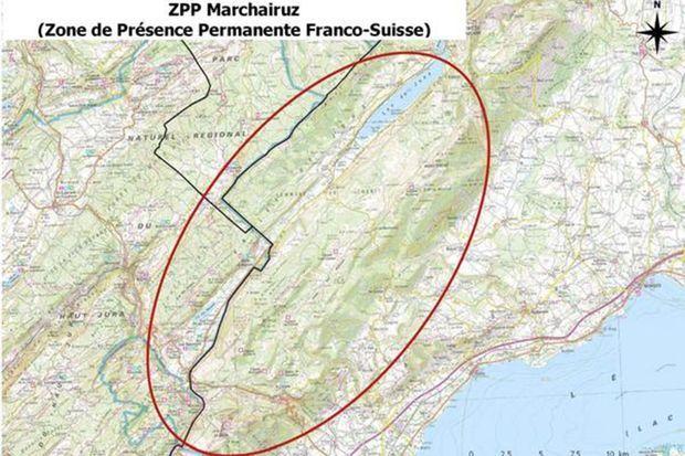 "Ladite ""zone du Marchairuz""."