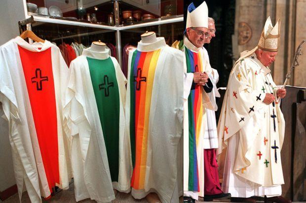 Les créations pour les JMJ et le pape Jean-Paul II.
